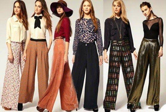 Como usar pantalones acampanados tendencia 2016 | SKLUSSIV