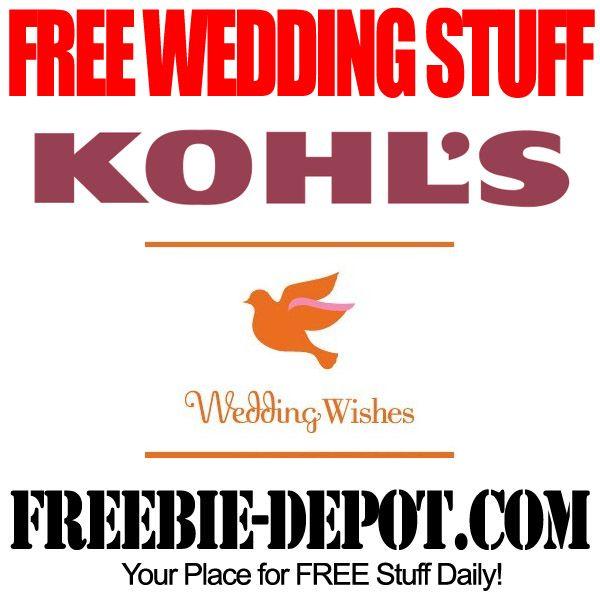 FREE Wedding Stuff – Kohl's