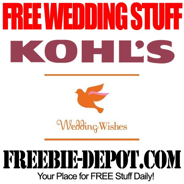 FREE Wedding Stuff – Kohl's