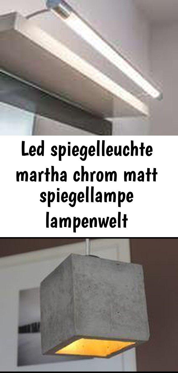 Led Spiegelleuchte Martha Chrom Matt Spiegellampe Lampenwelt Badezimmer Ip44 Lampe Beton Corpus Beton Beton Betoncorpus Lampe De With Images Decor Home Decor Lamp