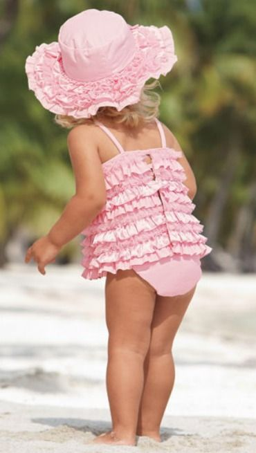 Summer Time - pink ruffles - I'd love to be able to still wear that !