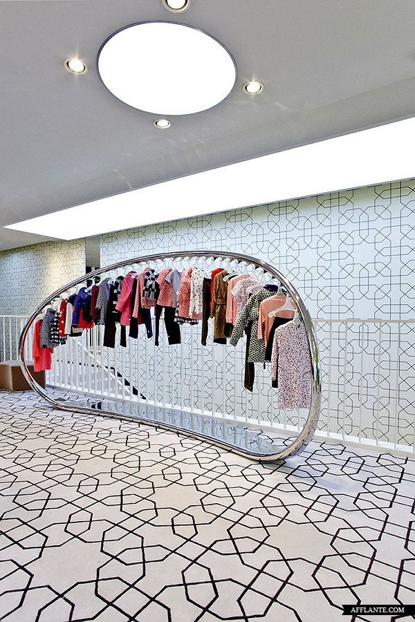 ♂ Commercial retail store minimalist interior design Marni Beijing Flagship Store Sybarite afflante