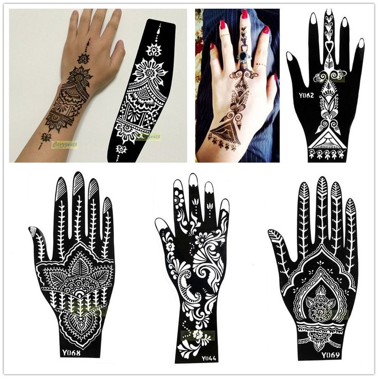 Best 25 henna stencils ideas on pinterest henna for Henna temporary tattoo stencils