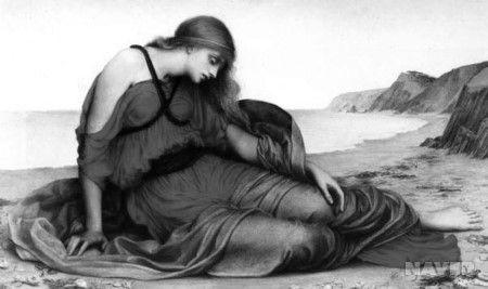 크레타의 공주 아리아드네와 아테네의 왕자 테세우스 (출처: 신화 인간을 말하다)