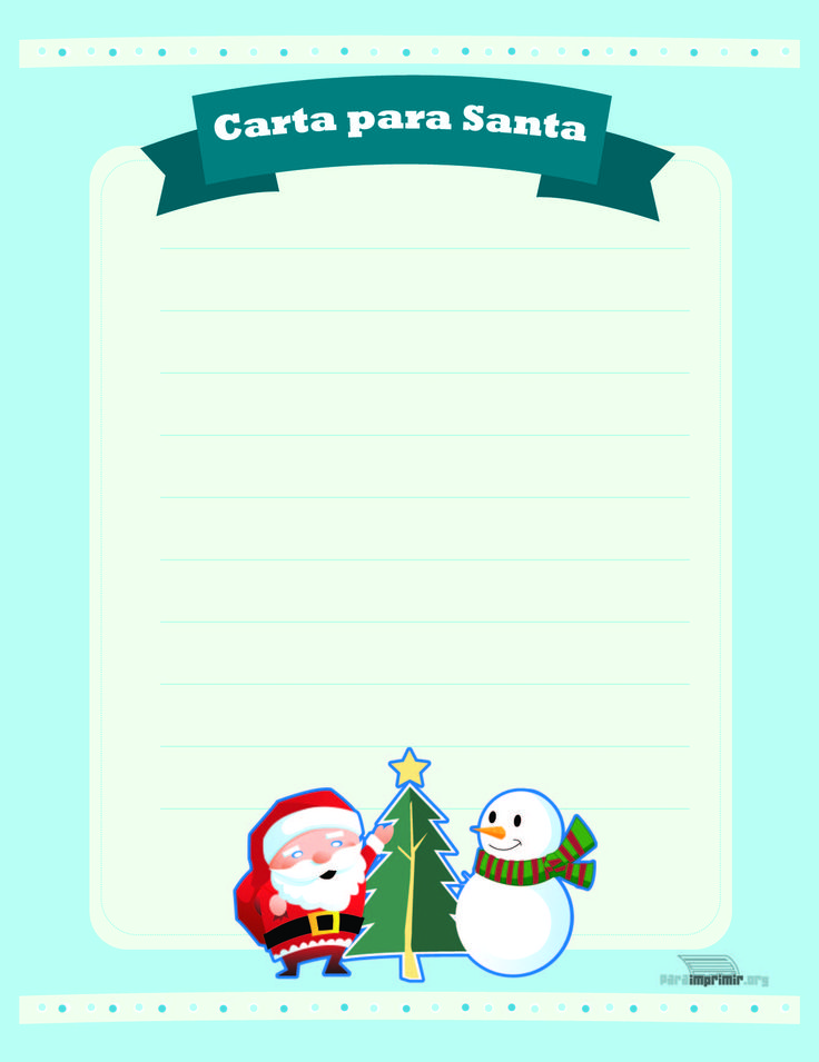 Carta-a-Santa-Claus-para-imprimir