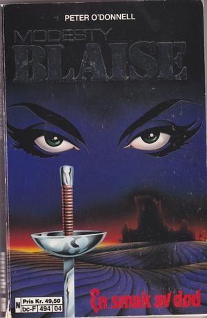 """""""Modesty Blaise - En smak av død - A Taste for Death"""" av Peter O'Donnell"""