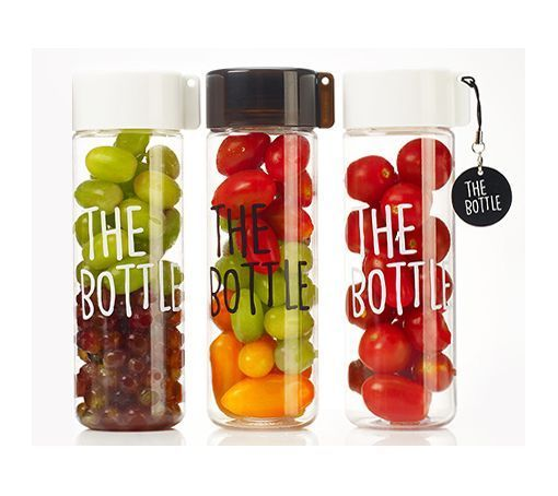 """THE BOTTLE"" BPA Free Tritan Clear Water Bottle Eco Tumbler Korea NEW #KOMAX"