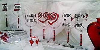 Valentine's Collection - Glassware Creations by Laurie