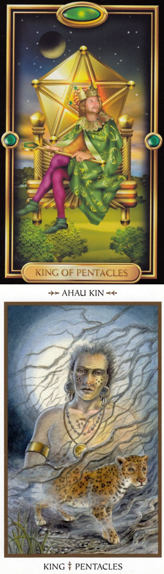 King of Pentacles: security and temptation (reverse). Gilded Tarot deck and Animals Divine Tarot deck: tarot nano, 6 card reading vs free tarot card prediction. Best 2018 magic and wicca.