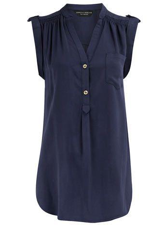 Dorothy Perkins long line shirt