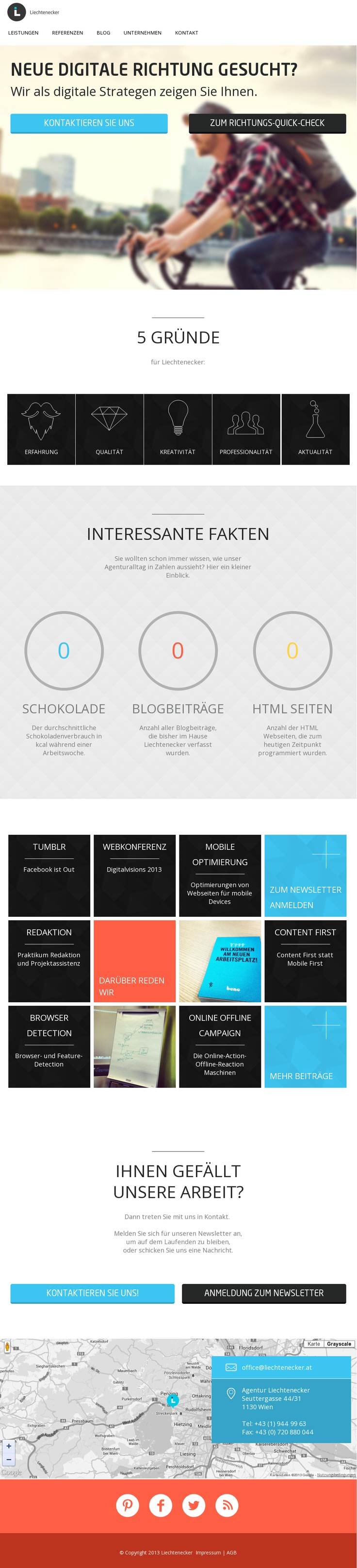 Flat web design...