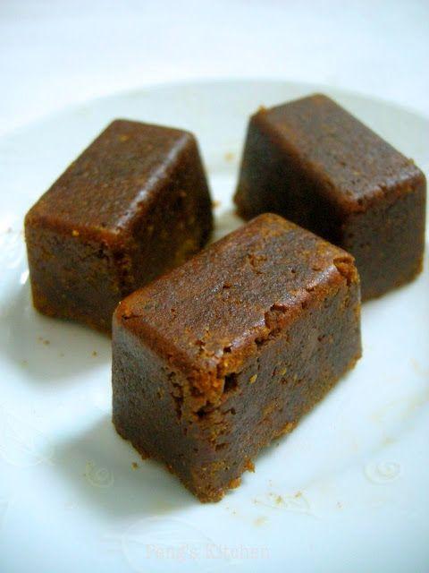 Homemade Japanese Curry Roux (butter, AP flour, curry powder, garam masala, paprika, Worcestershire, tomato sauce)