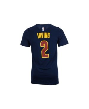 adidas Men's Kyrie Irving Cleveland Cavaliers Player T-Shirt - Blue XXL