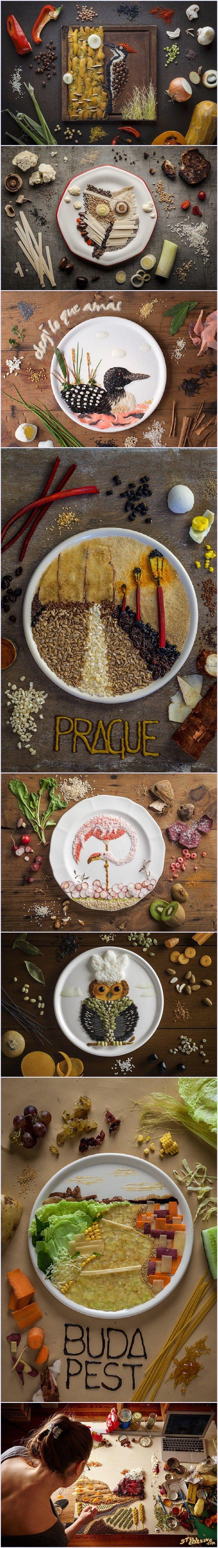 food art, creative, art