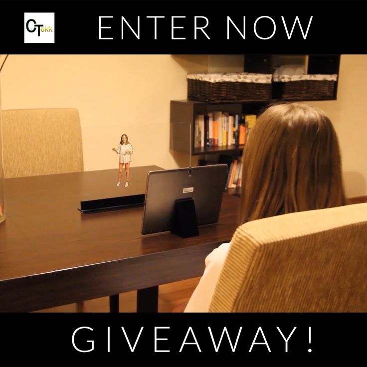 Win a FREE Personal 3D Holographic Screen from HoloVit. Enter here: http://www.citizentekk.com/product/holovit-3d-hologram-screen-giveaway/ #Giveaway #Contest #win
