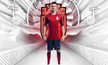 Lille OSC 2015/16 Nike Home Kit