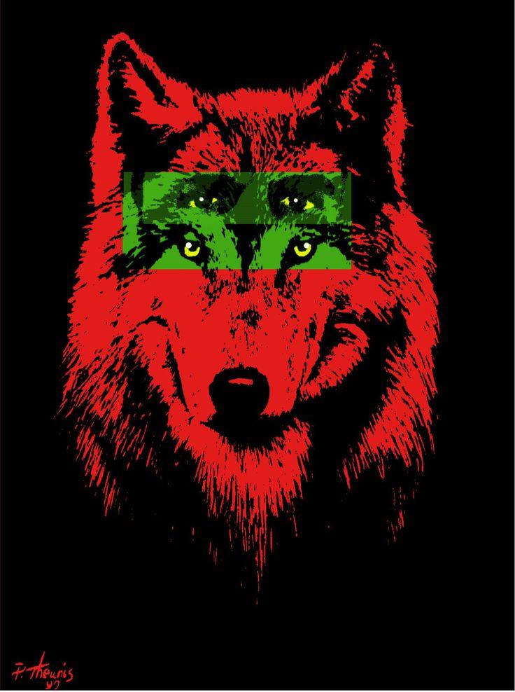 RedWolf logo