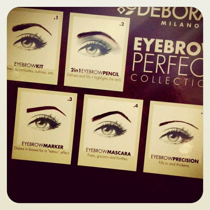 Eyebrow perfect collection