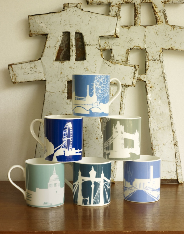 This lovely set is guaranteed to cheer you up whenever you use them, featuring one of each design in the River Series.  £70