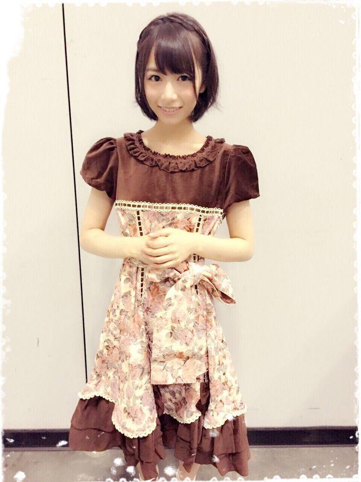 ウエストがきれいな北野日奈子さん