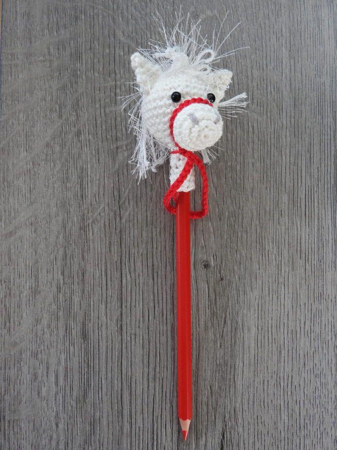 Paard Van Sinterklaas Op Je Potlood Aan De Haak Breien En Haken