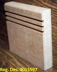 Modern MDF Skirting Boards - MDF Skirting Boards