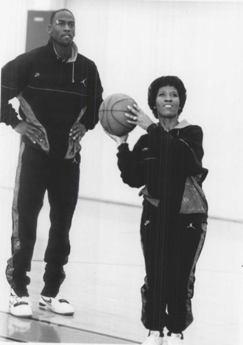 Air Mom. Michael Jordan Mother