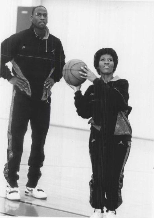 Air Mom. Michael Jordan Mother