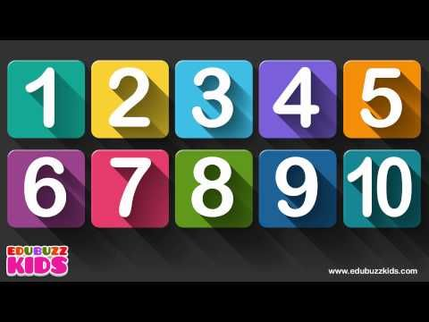 10 little numbers song for children | Numbers song | Ten little numbers. - YouTube