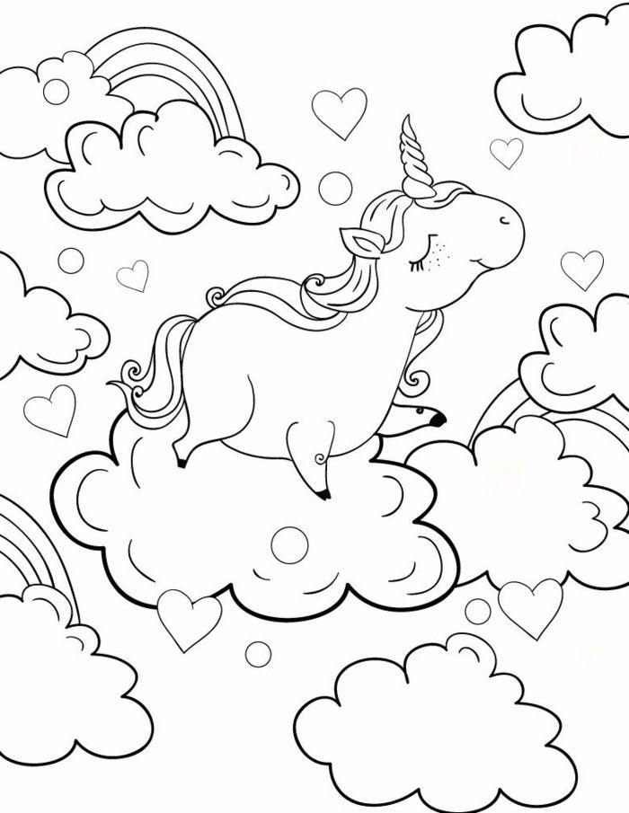 1001 Ideen Fur Ausmalbilder Einhorn Fur Kinder In 2020 Malvorlage Einhorn Susse Bilder Zeichnen Einhorn Zum Ausmalen
