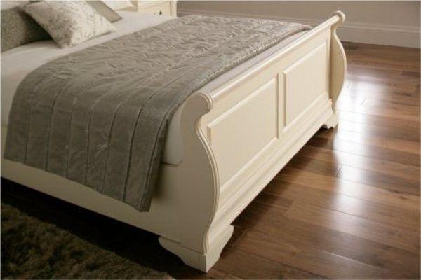 Whitewashing Wood Bed Frame