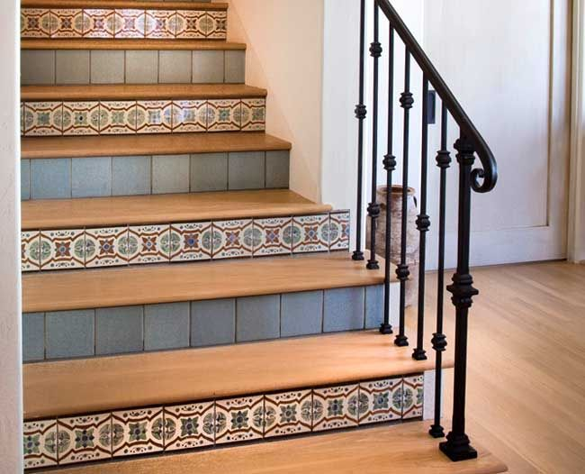 Tile On Stair Risers | Tile Design Ideas