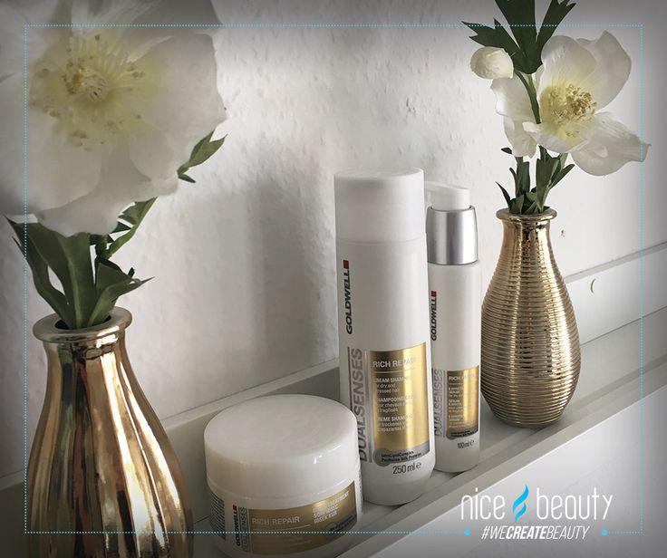 Pashmina silk for ur hair - top quality repair for damaged hair!   Goldwell Dualsenses Rich Repair Series