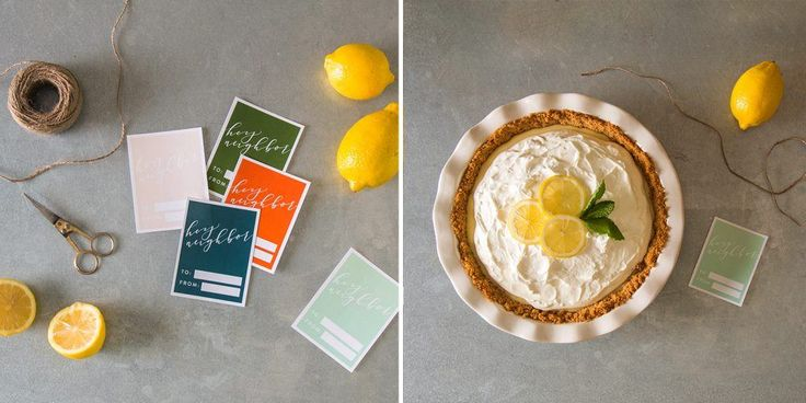 Lemon Pie Recipe   At Home: A Blog by Joanna Gaines