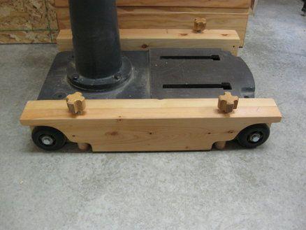 Drill Press Mobil base