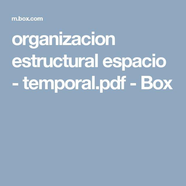 organizacion estructural espacio - temporal.pdf - Box