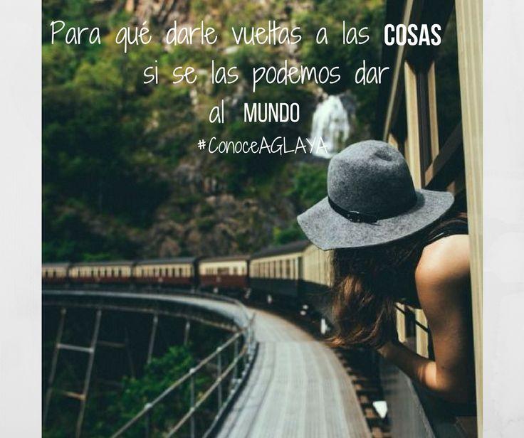 #ConoceAGLAYA #AGÑAYArtesanal @AGLAYArtesanal ¡Lleva AGLAYA dónde vayas!