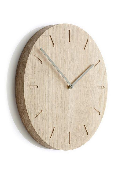 Moderne Design-Wanduhr aus Holz im skandinavischen Stil ✓verschiedene Ausführungen ✓natürlich schön & funktional ✓versandkostenfrei bestellen