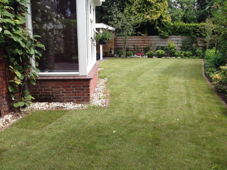 tuin met graszoden