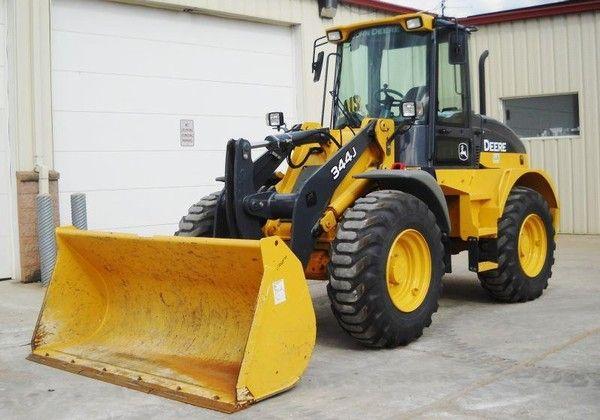 john deere construction | John Deere 344J for sale | Used John Deere 344J wheel loaders - Mascus ...