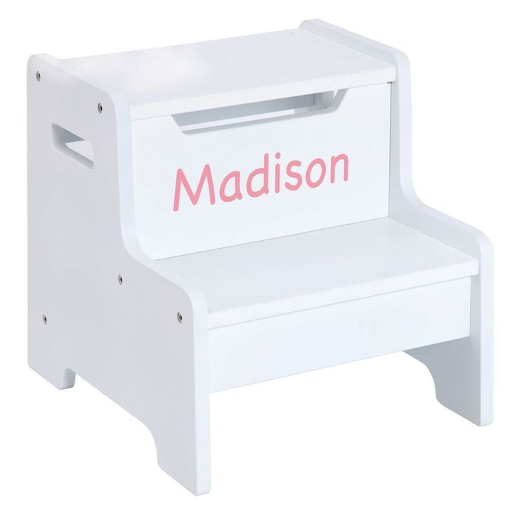 120 best every child needs a step stool images on pinterest expressions step stool white step stool for kidspainted stepspersonalized baby giftskid negle Gallery