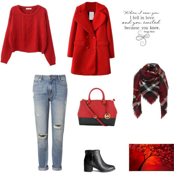 A fashion look from January 2015 featuring Chicnova Fashion sweaters, Whistles jeans and H&M ankle booties. Browse and shop related looks.