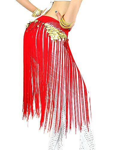 Ceinture(Rouge,Polyester,Danse du ventre / Spectacle)Danse du ventre / Spectacle- pourFemme Frange (s) Spectacle Danse du ventre de 216876 2016 à €9.79