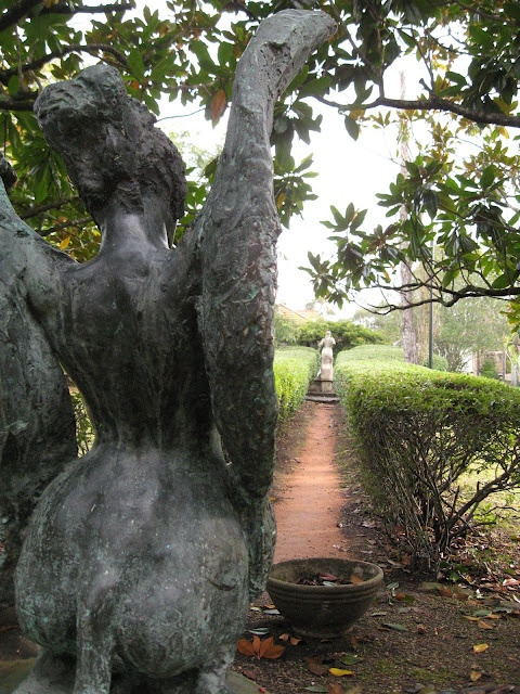 Norman Lindsay's garden in Springwood, NSW.