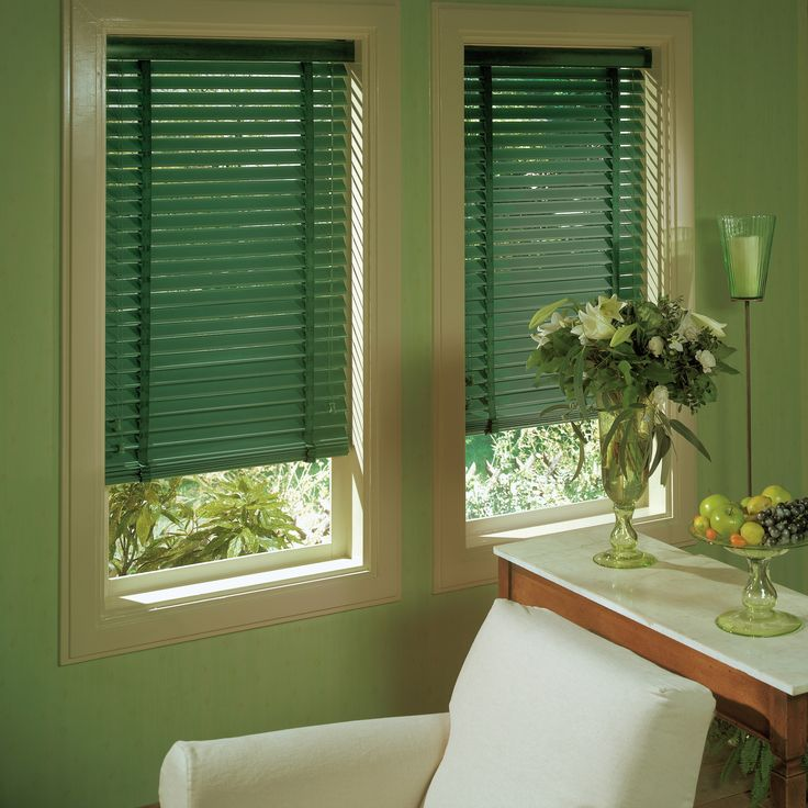 Apollo Green Venetian Blinds