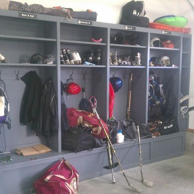 Garage And Shed Mudroom Design, Pictures, Remodel, Decor and Ideas