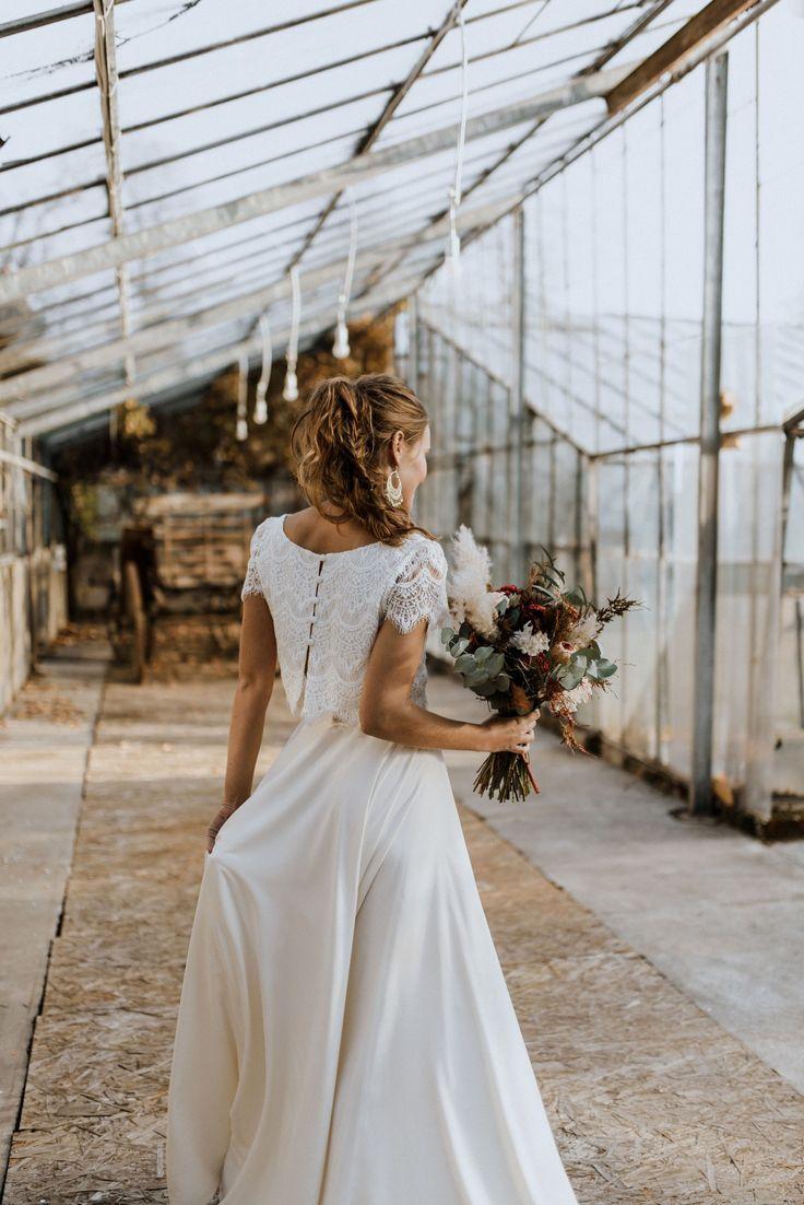 Labude Koeln – Zweiteiler für die moderne Boho-Braut