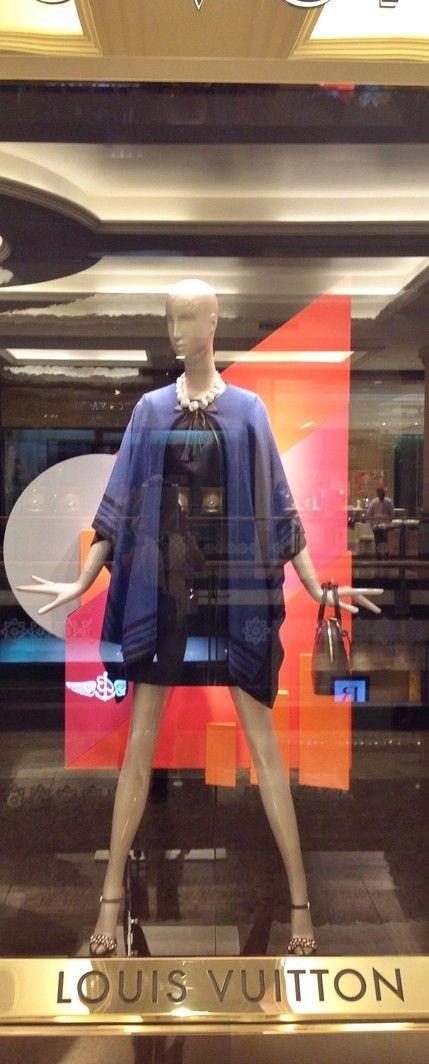shop window Louis Vuitton Mall of the Emirates Dubai