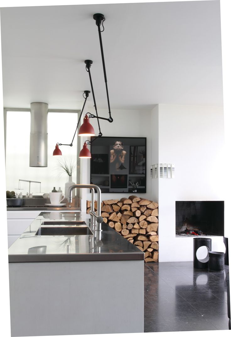 ADJUSTABLE CEILING LAMP WITH SWING ARM N°302 WALL/CEILING LAMP COLLECTION BY DCW ÉDITIONS