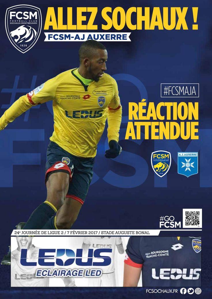 """""""Allez Sochaux !"""" - FCSM-AJ Auxerre"""